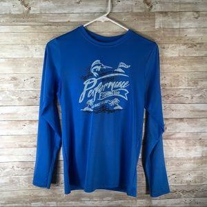 Columbia Omni-Wick Long Sleeve Shirt Fishing